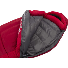 Sea to Summit Alpine AP III Saco de Dormir Largo, crimson/fiery red